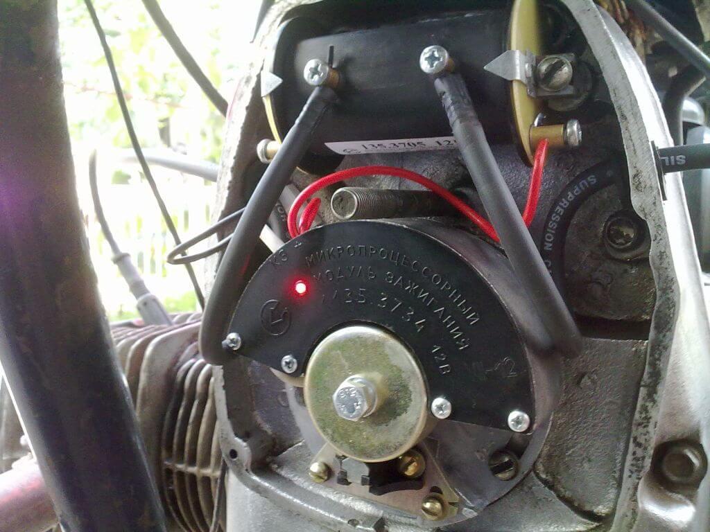 156Электронное зажигание для мотоцикла урал