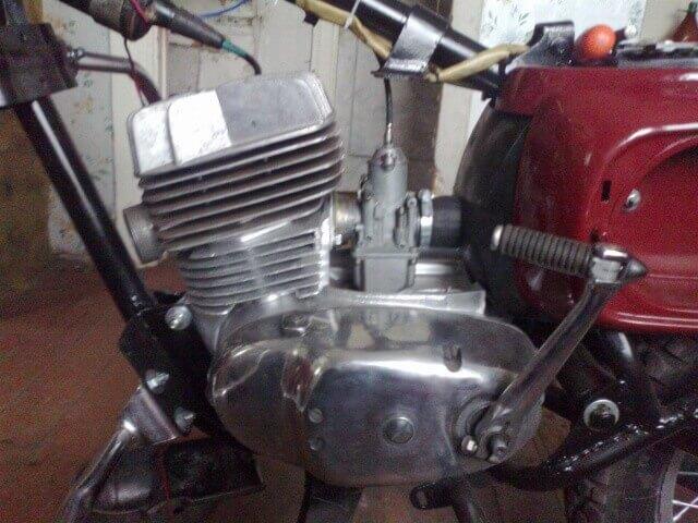 Тюнинг двигателя мотоцикла Восход 3м фото