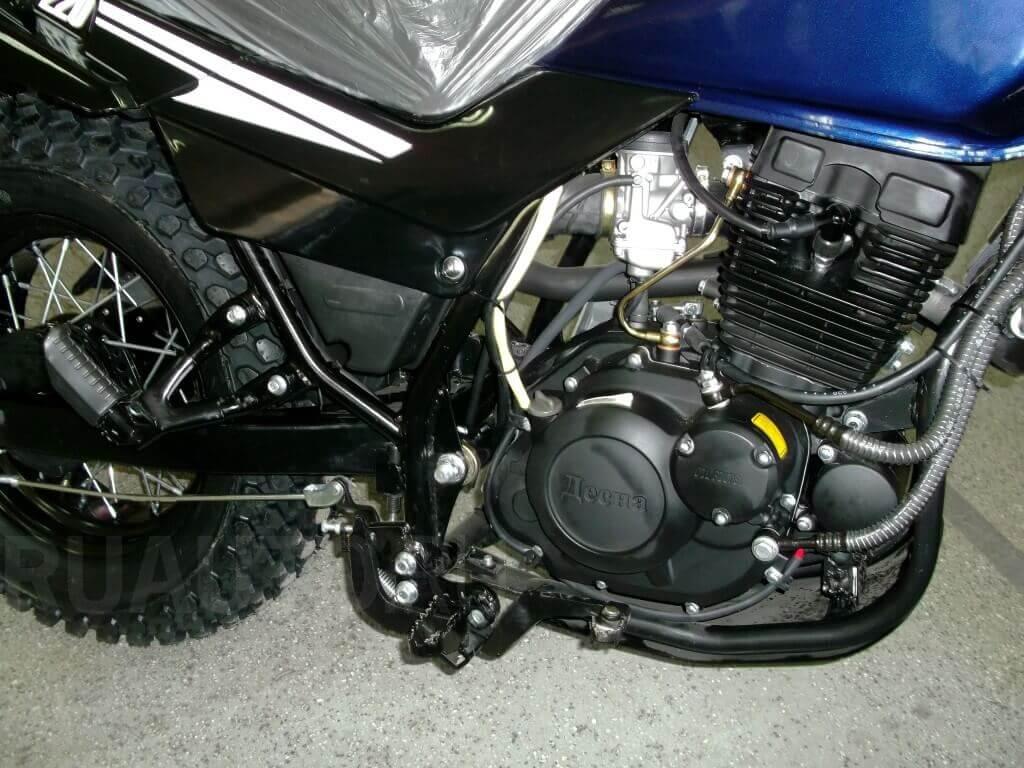 Двигатель и рама Stels Десна Фантом 220 фото