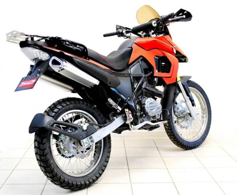 Оранжевый дакар 250 s2