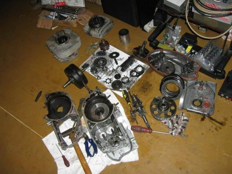 ремонт двигателя иж планета самым низким ценам