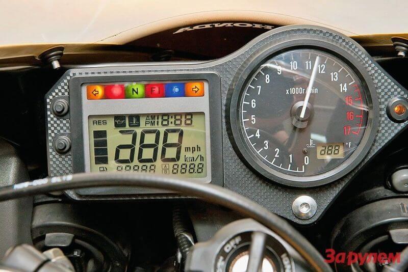Приборная панель honda cbr 600 f4i фото