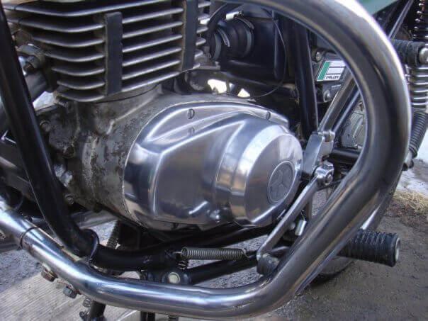 полировка картера двигателя фото